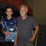 Yann, 2eme meilleur cadet junior.